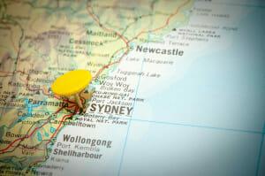 Sidney map location