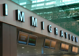 Immigration Counters