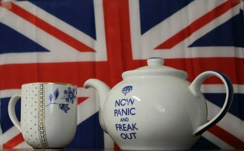 British tea porcelane.