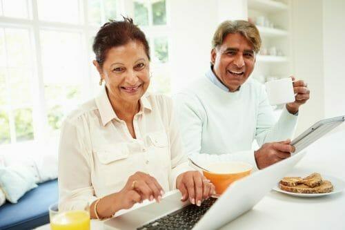 Couple applying for Australian parent visa.