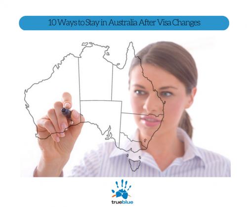 Girl drawing on Australian map.