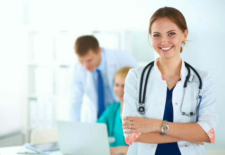 Image of woman doctor.