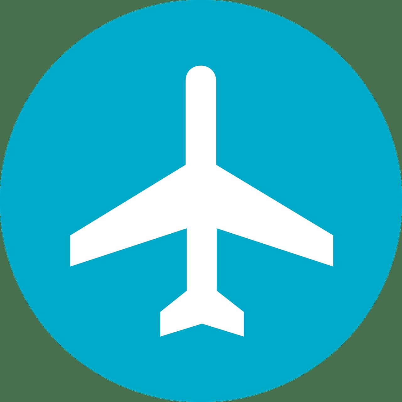 Plane symbol.