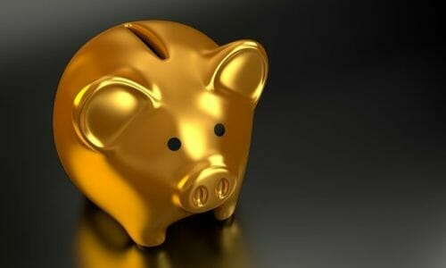 Gold piggy bank Australian budget visa holders
