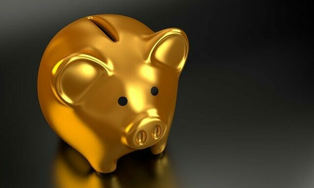 Gold piggy bank Australian budget visa holders